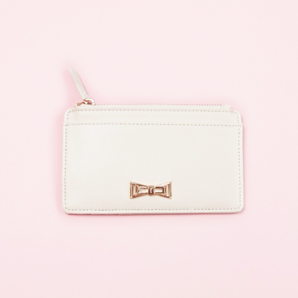 0145165a3e Ted Baker London Bags | Ted Baker Xhatch Metal Bow Leather Coin ...